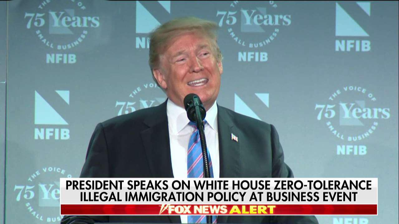 Trump: Crippling loopholes cause family separation at border