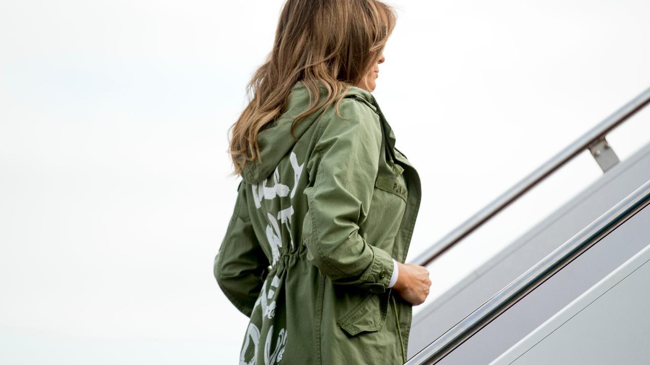 Melania Trump 'I really don't care' jacket raises eyebrows