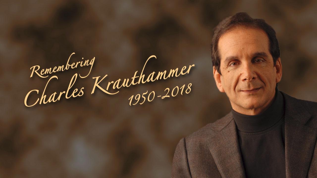 Remembering the legendary Charles Krauthammer