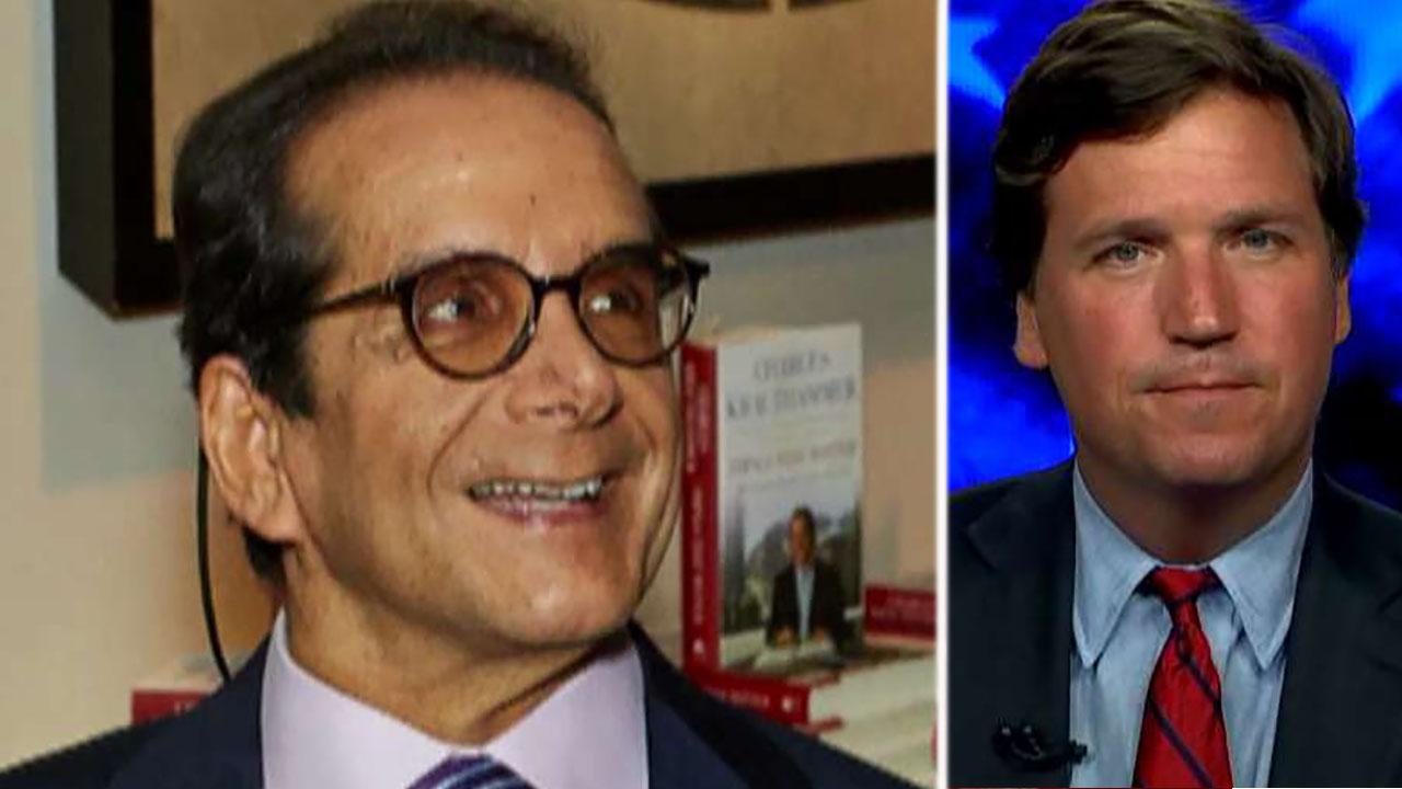 Tucker Carlson praises the clarity of Krauthammer's thinking