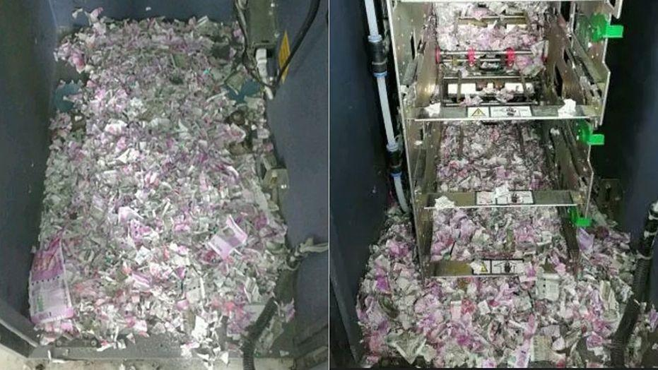 Hungry rat found dead after eating its way through an ATM
