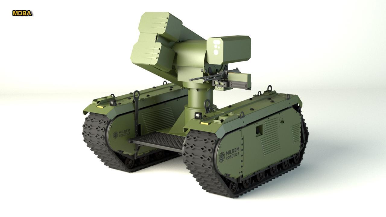 Tank-killing robot revealed