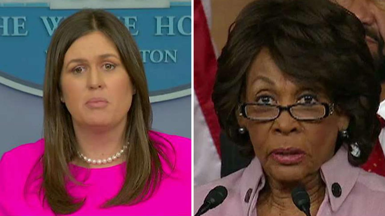 Sarah Sanders condemns 'calls for harassment'