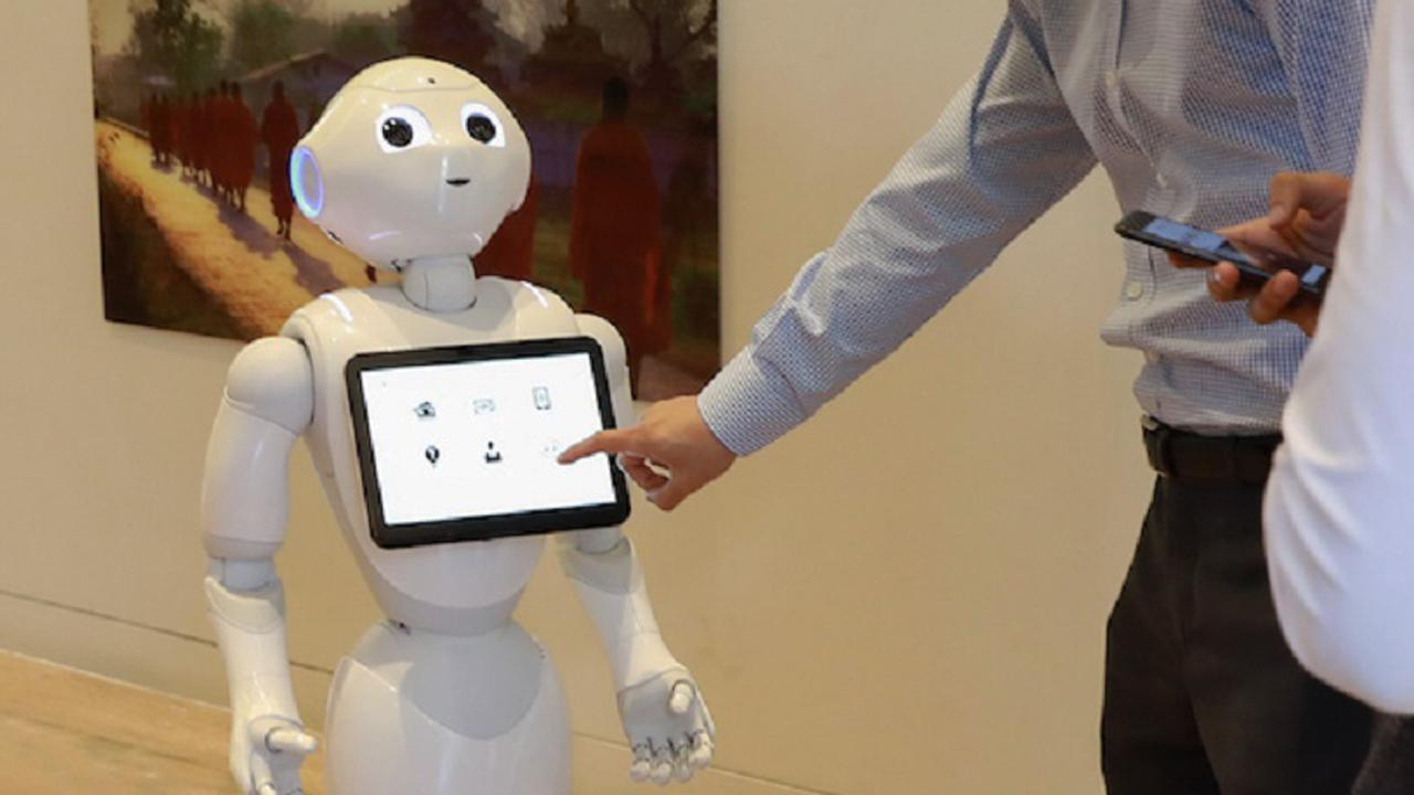 The bank has teamed up with SoftBank Robotics to include the humanoid robot to its workforce.