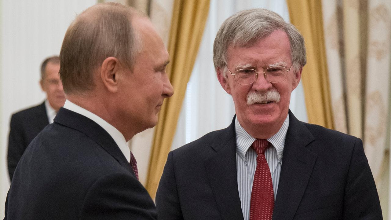 Bolton meets Putin in Moscow to talk potential Trump summit