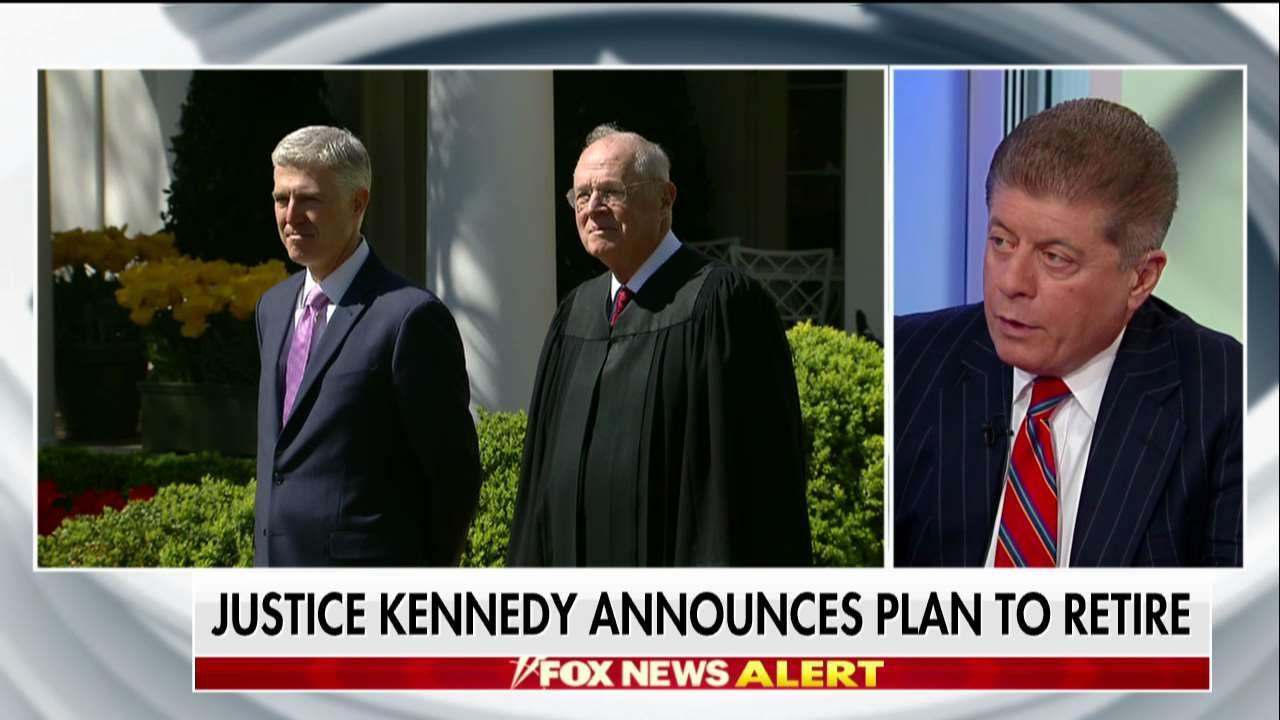 Judge Nap: The Key Issue After Justice Kennedy's Retirement Will Be Abortion