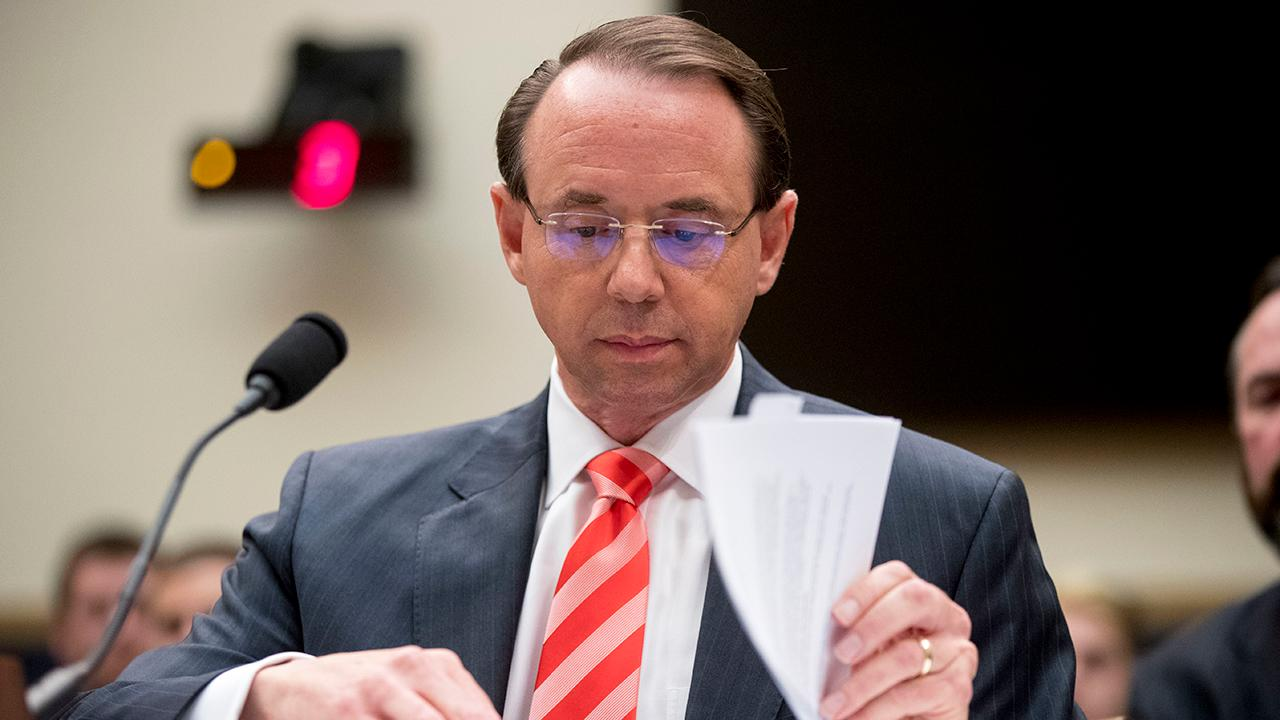 Rosenstein questioned over document requests