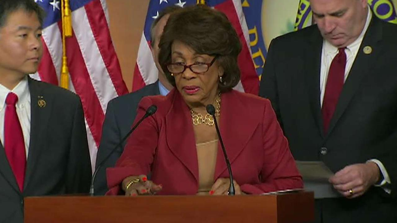 Maxine Waters attacks Democratic leadership