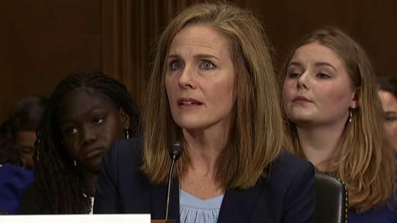 A look at Judge Amy Coney Barrett's thoughts from the bench