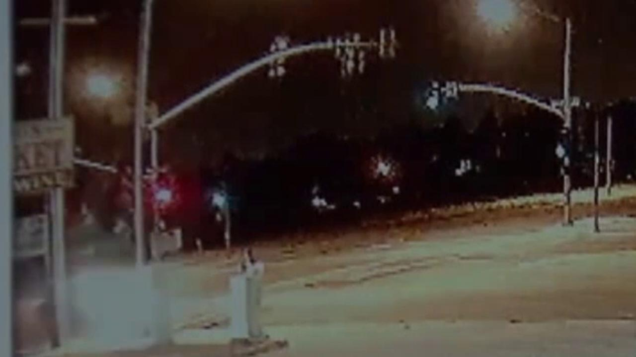 Fatal hit and run of pregnant woman caught on camera