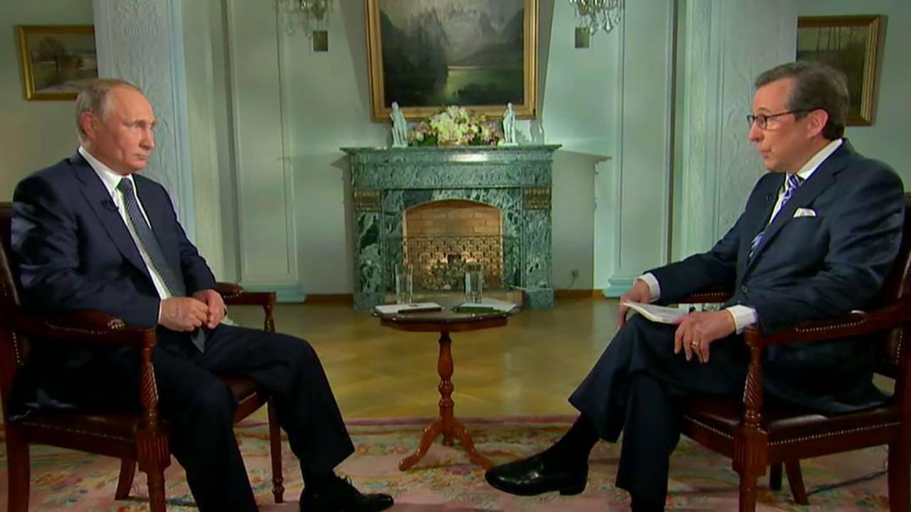 Chris Wallace interviews Russian President Vladimir Putin
