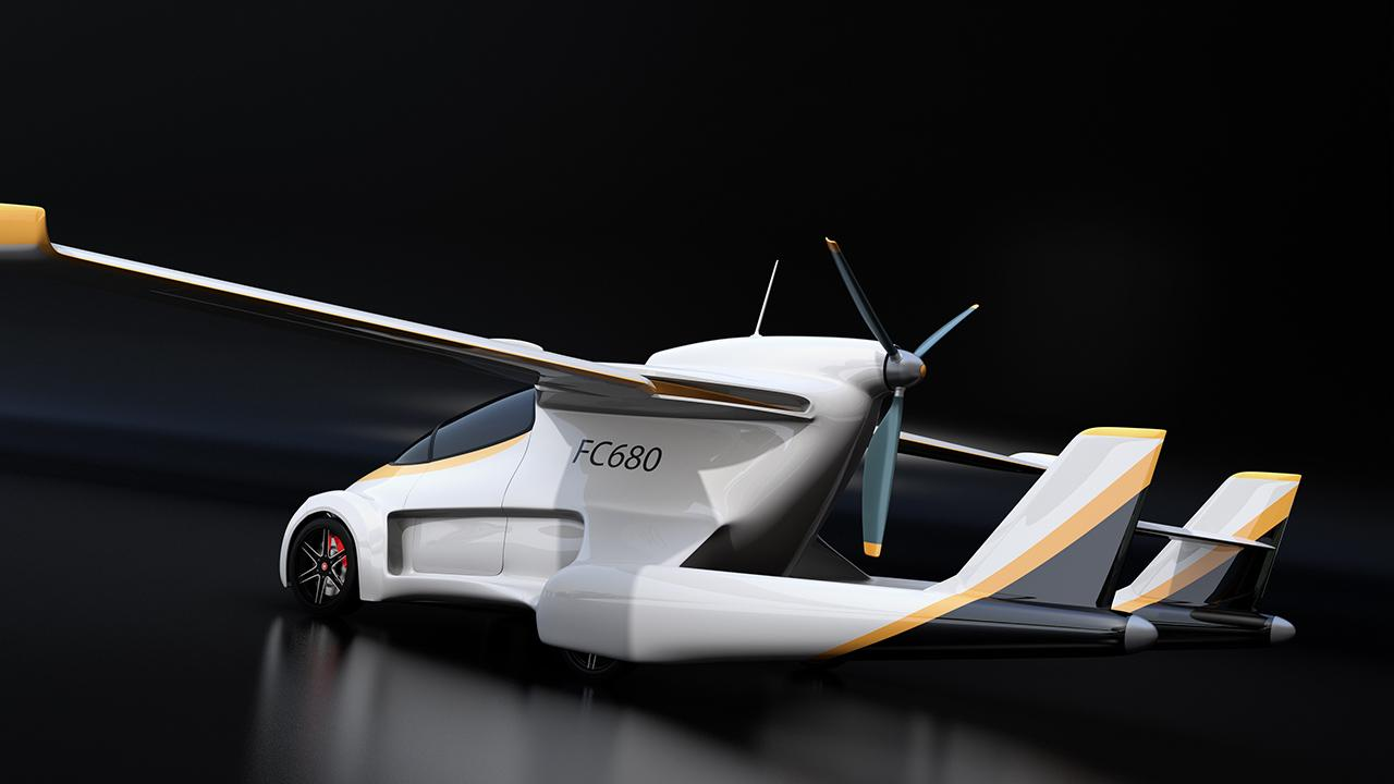 A look at the major companies who are getting into the flying car business