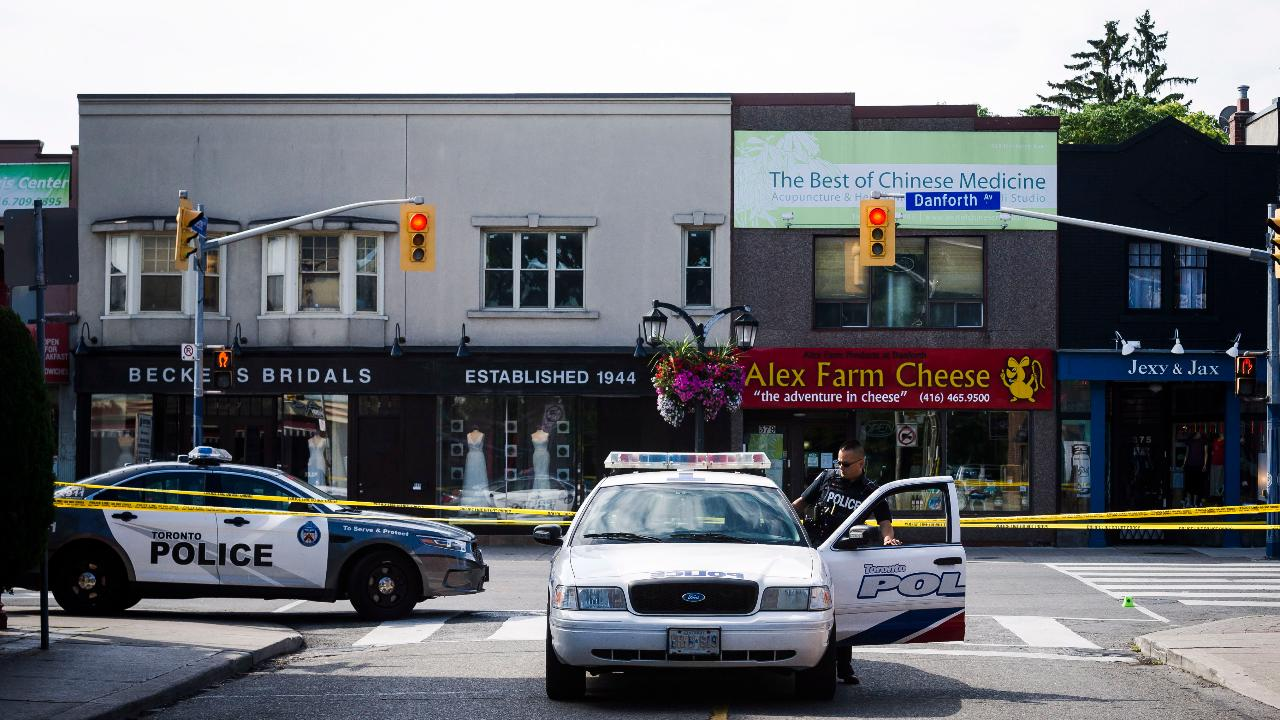 Police identify Toronto gunman