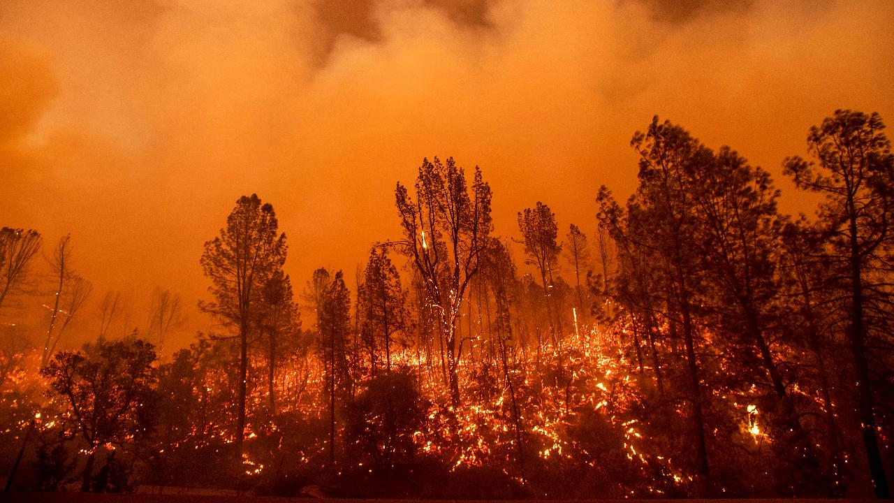 California wildfires: Devastating video from the inferno