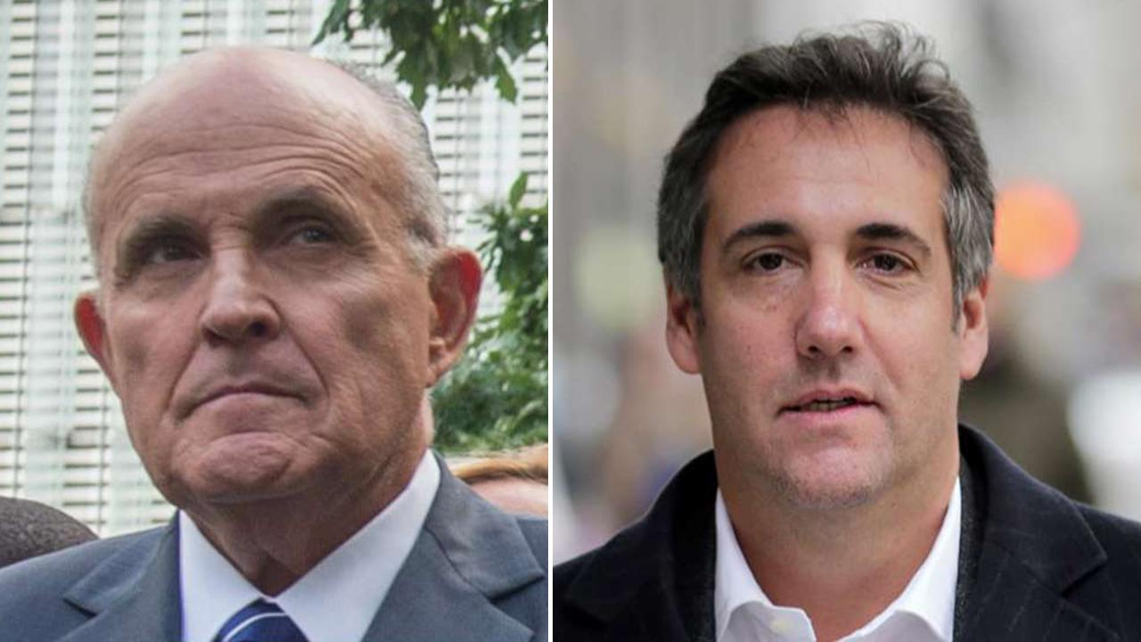 Giuliani, Graham question Cohen's credibility on Trump tapes