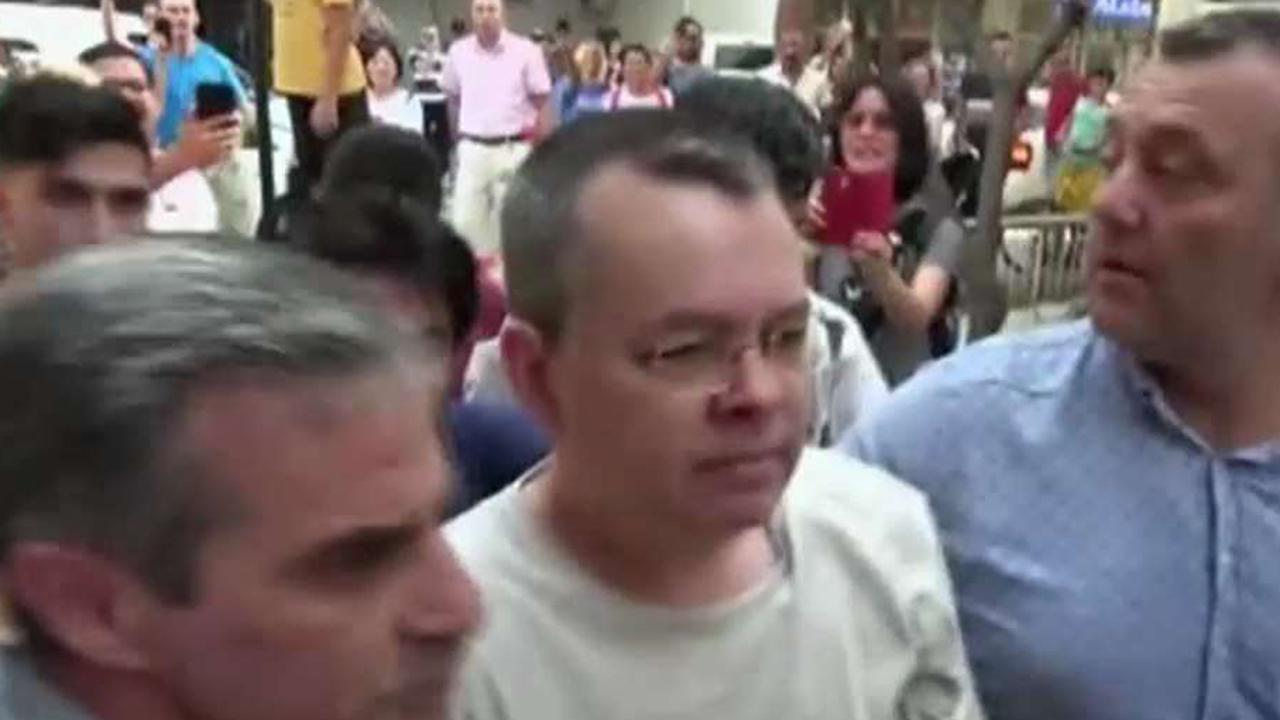 Will threat of sanctions bring Pastor Andrew Brunson home?