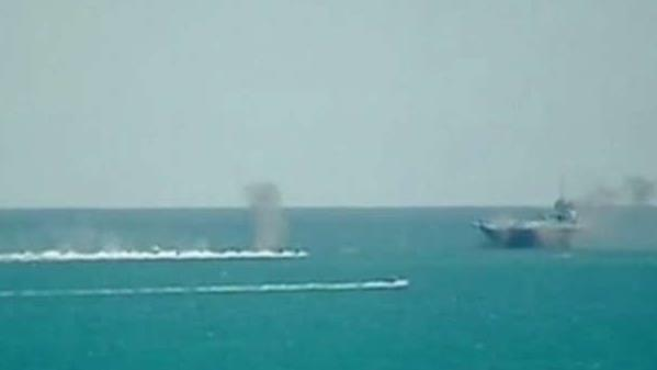 Iran conducts 'swarming' exercise in Strait of Hormuz