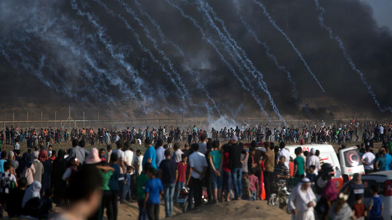 Protests along Israel-Gaza border intensify