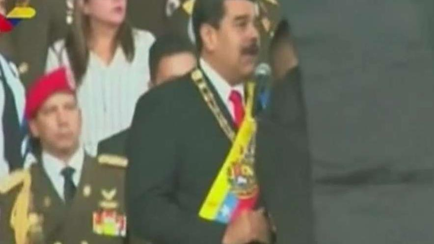Maduro blames outside groups for 'assassination' attempt