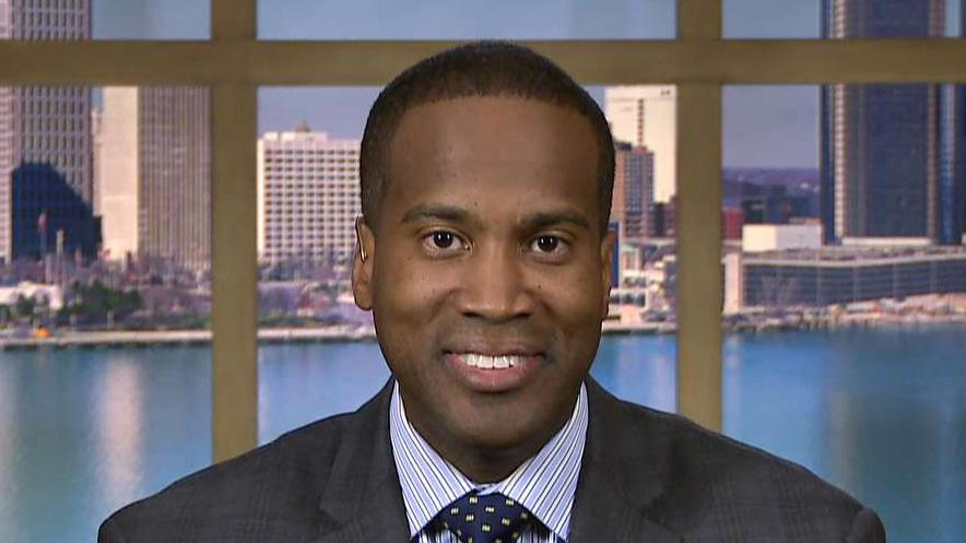 John James: President Trump's support was icing on the cake