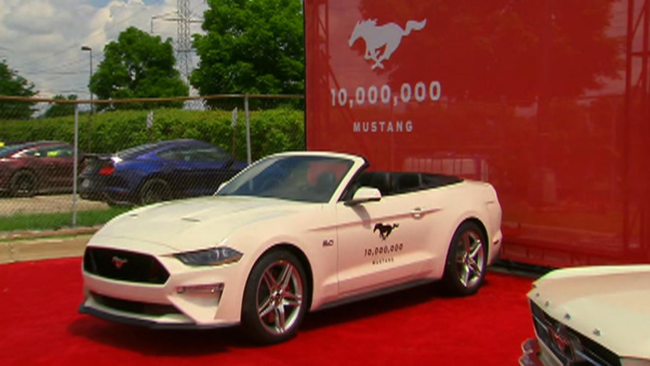 Ford reveals the 10 millionth Mustang