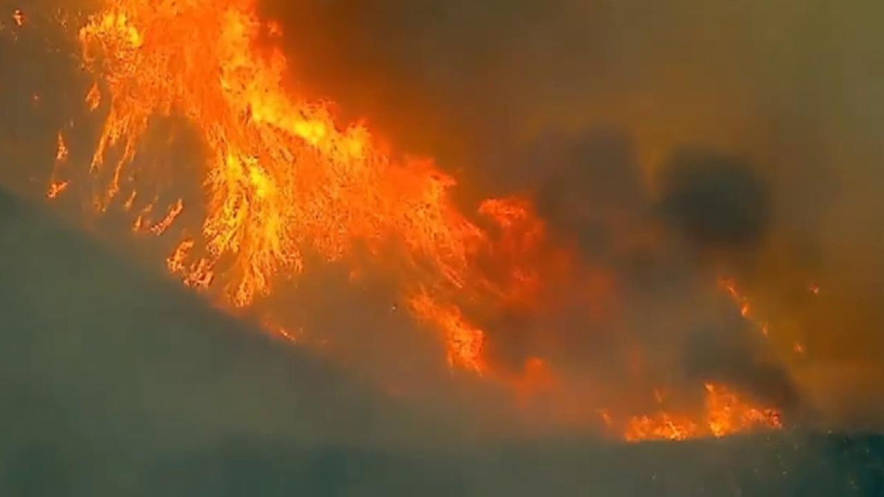 Holy Fire rips its way through the Cleveland National Forest