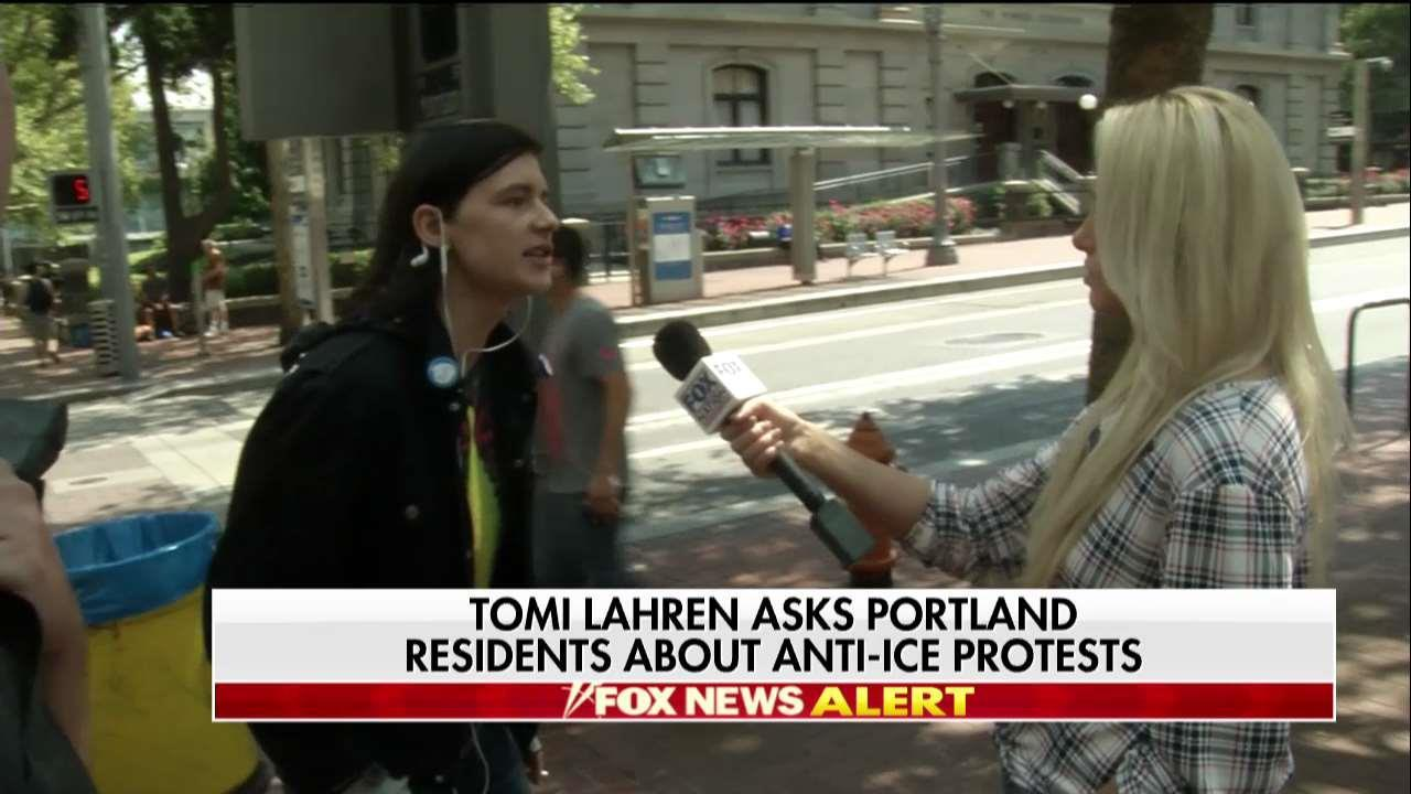 Tomi Lahren Asks Portland Residents How They Feel About 'Occupy ICE' Protests