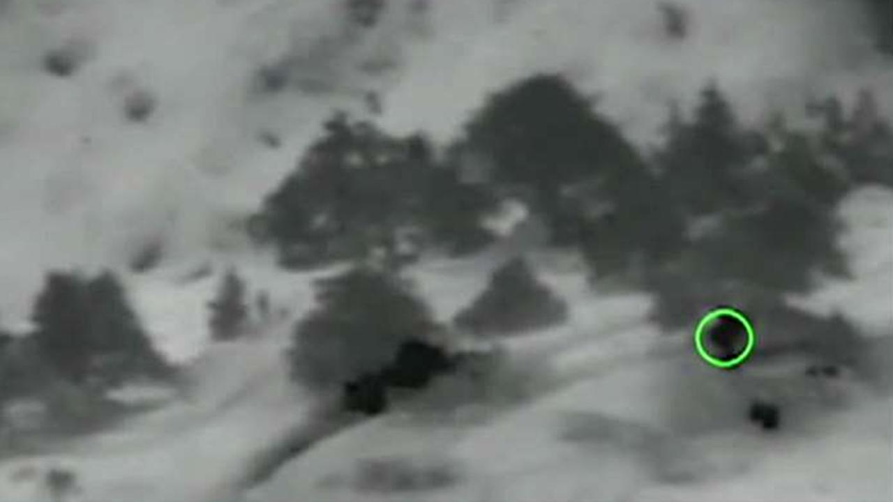 Air Force releases footage of soldier's final fight