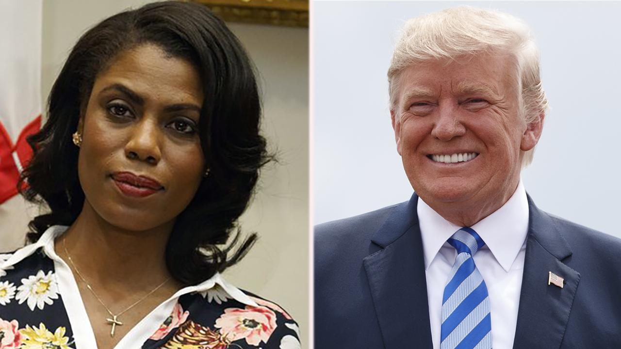 Trump calls Omarosa a 'dog' as war over salacious memoir explodes
