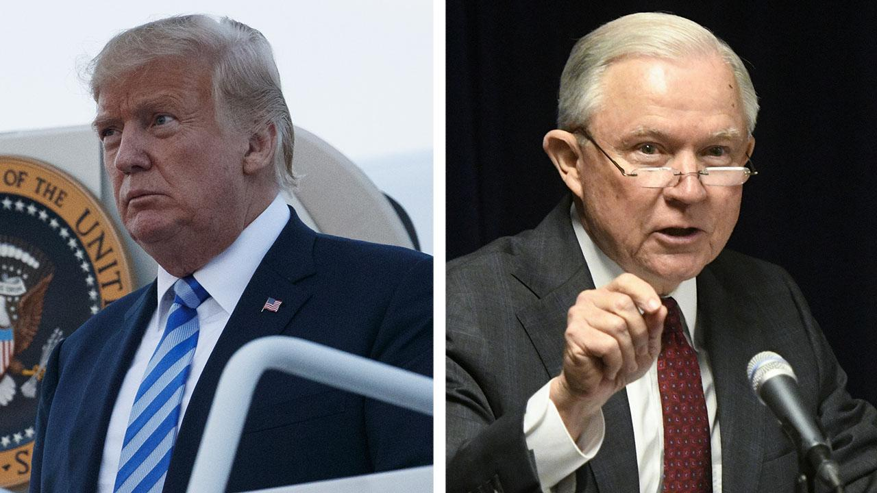 Trump tells Jeff Sessions to sue opioid makers