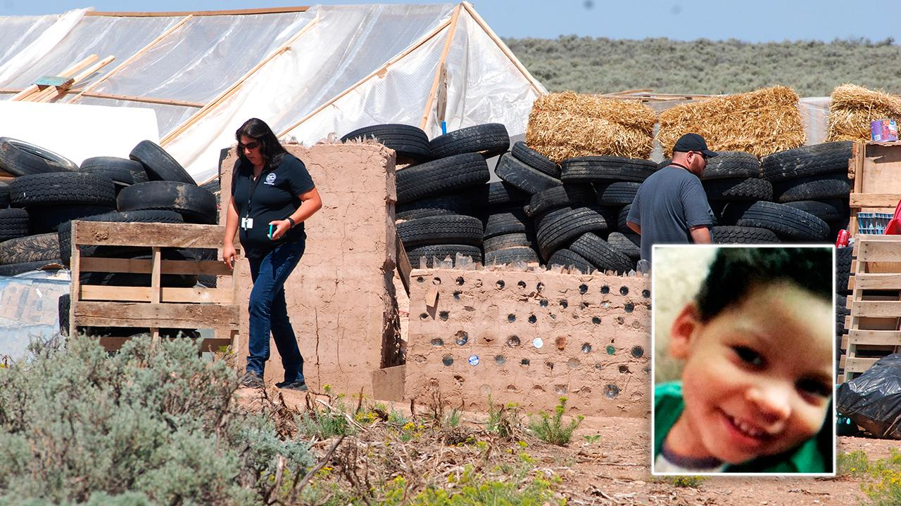 Remains at New Mexico compound identified as missing boy