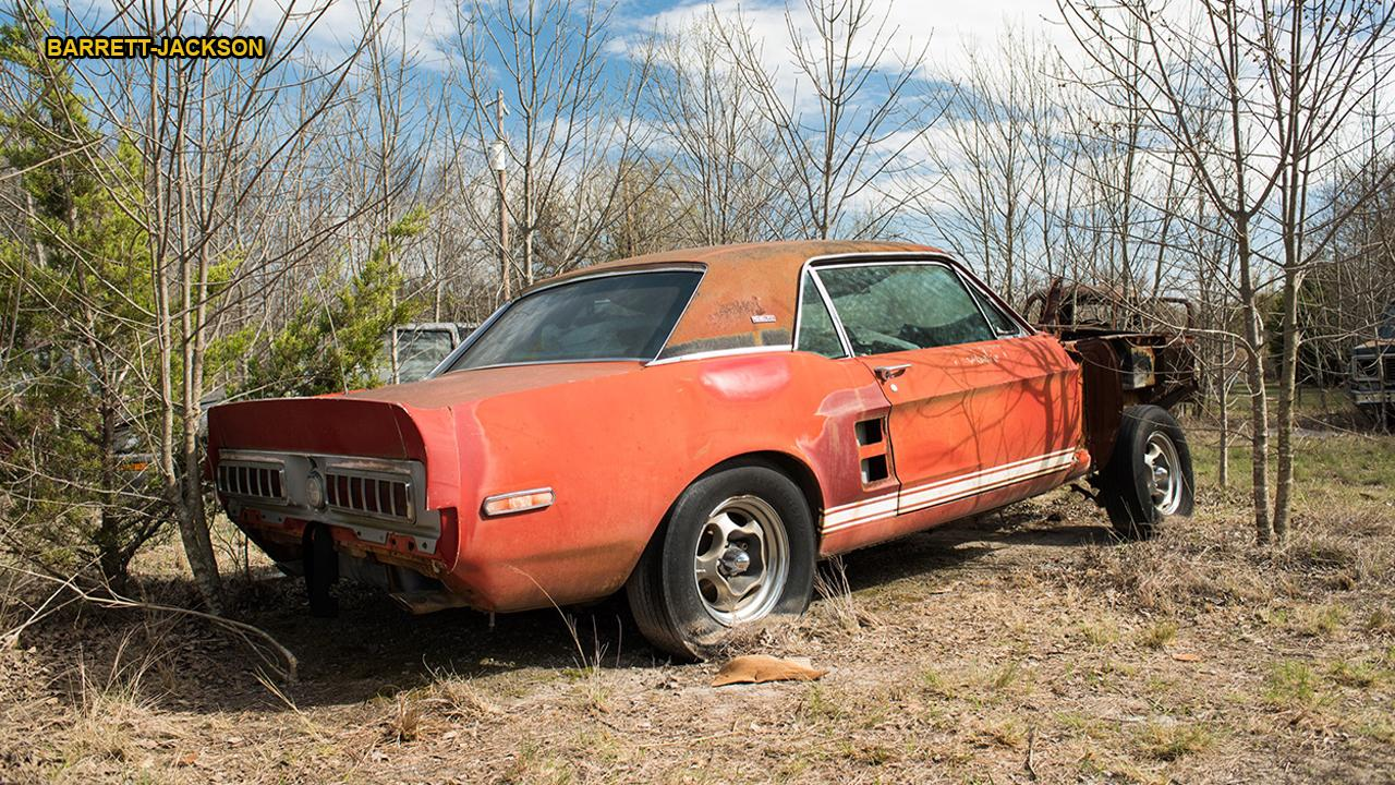 Little red 1967 ford mustang shelby gt500 found after 50 years could be worth millions
