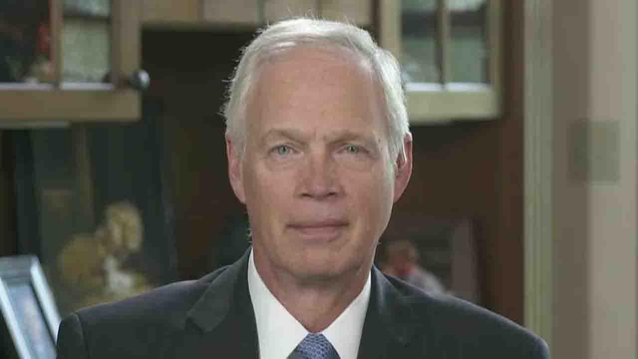 Sen. Johnson on whether Trump is trying to silence critics