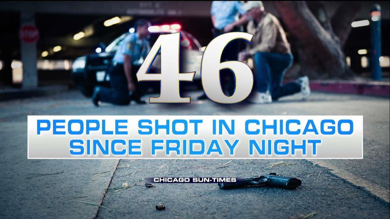 Report: 46 People Shot in Chicago Since Friday Night