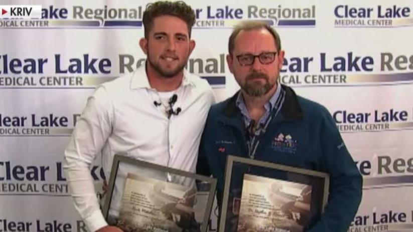Heroes of Hurricane Harvey honored one year later