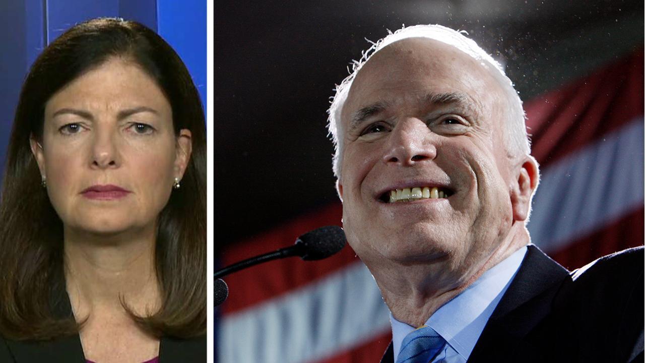 Former Sen. Kelly Ayotte shares memories of John McCain