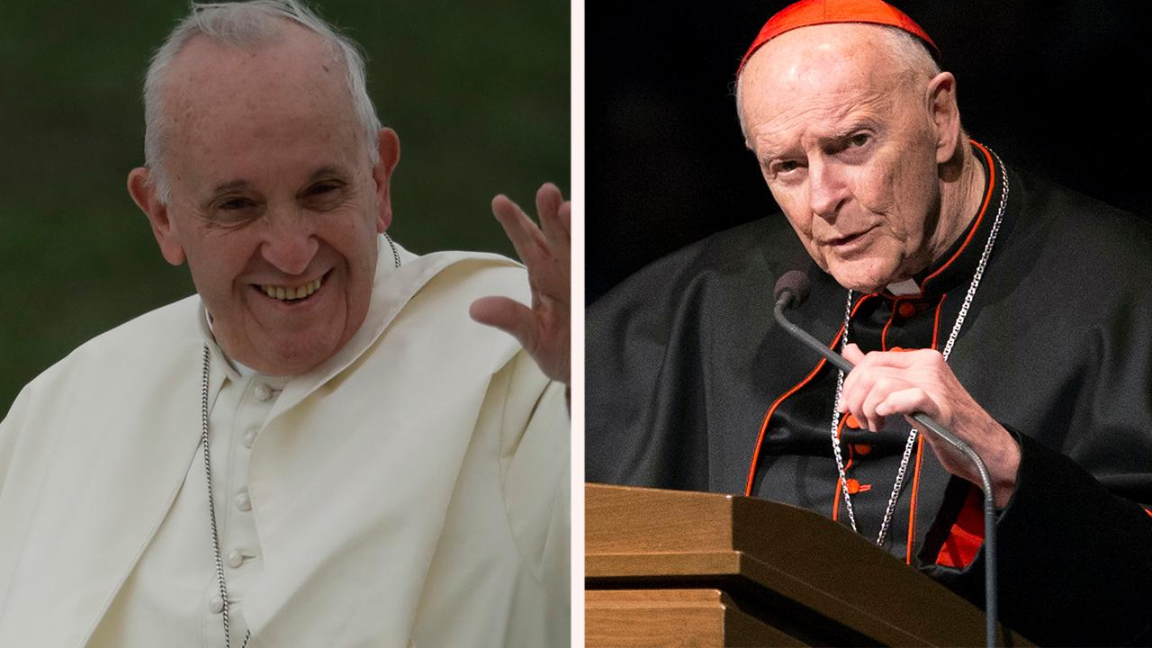Pope accused of ignoring McCarrick abuse accusations
