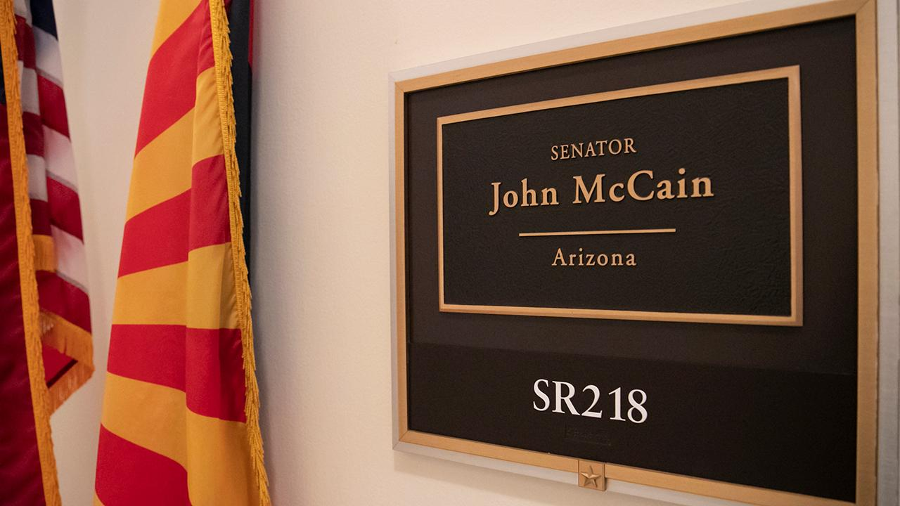 Washington prepares to honor Sen. McCain