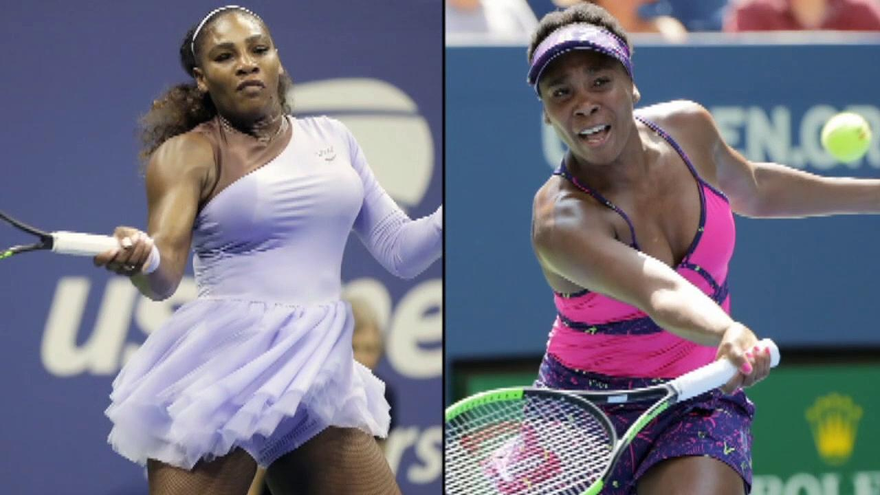 Serena and Venus Williams meet at the US Open
