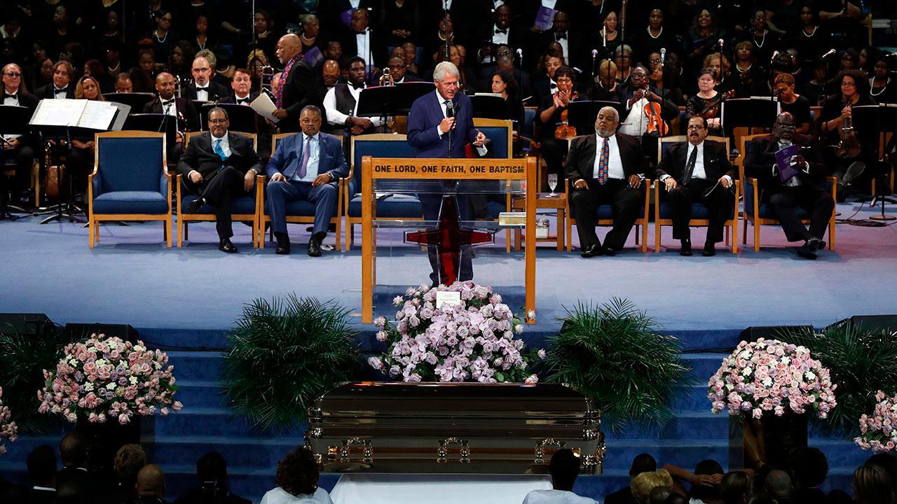 Lengthy, star-studded celebration for Aretha Franklin