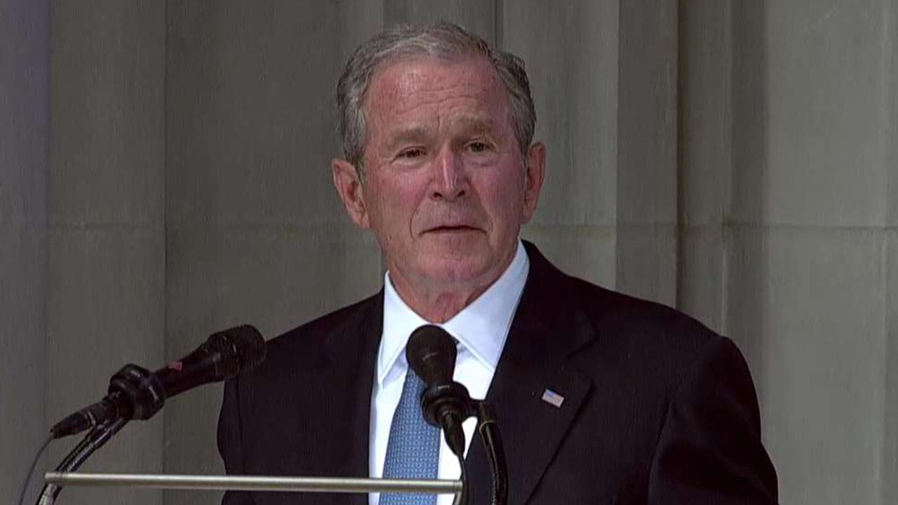 George W. Bush: John McCain made me better