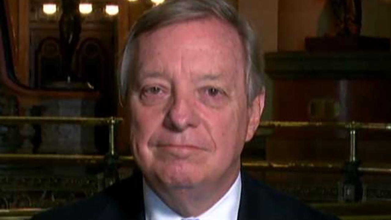 Sen. Durbin on efforts to stall Kavanaugh's confirmation