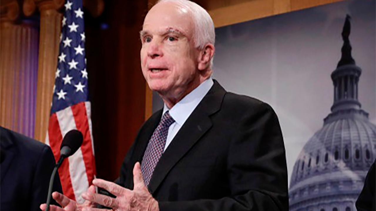 Sen. McCain's lasting impact on the war in Afghanistan