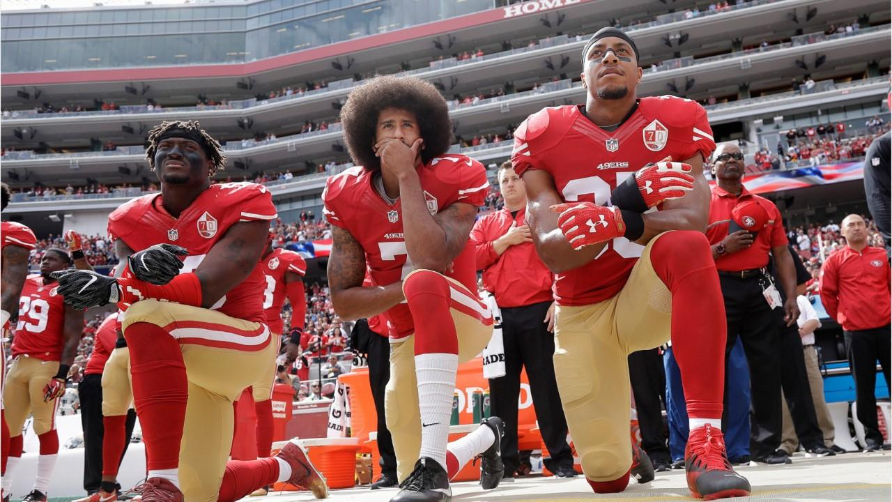Backlash after Nike signs new deal with Colin Kaepernick