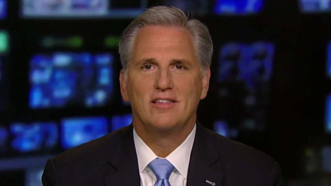 Rep. Kevin McCarthy on budget deadline, funding for wall