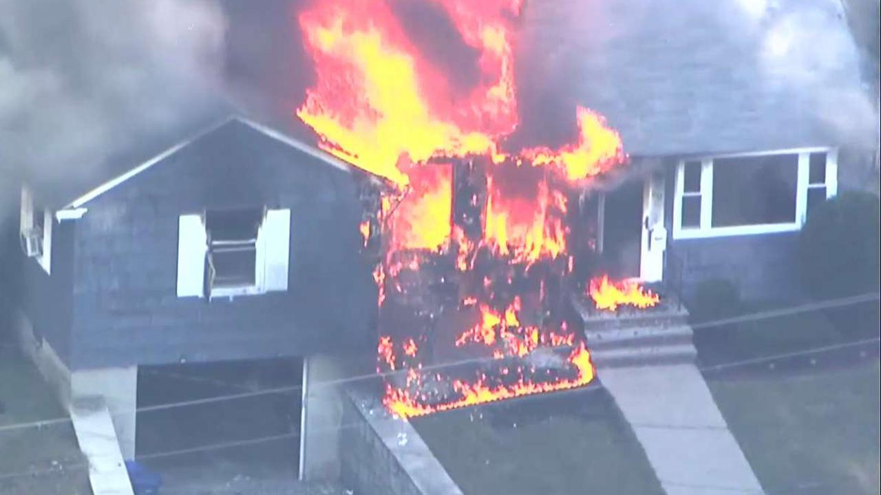 Suspected gas explosions hit Massachusetts communities