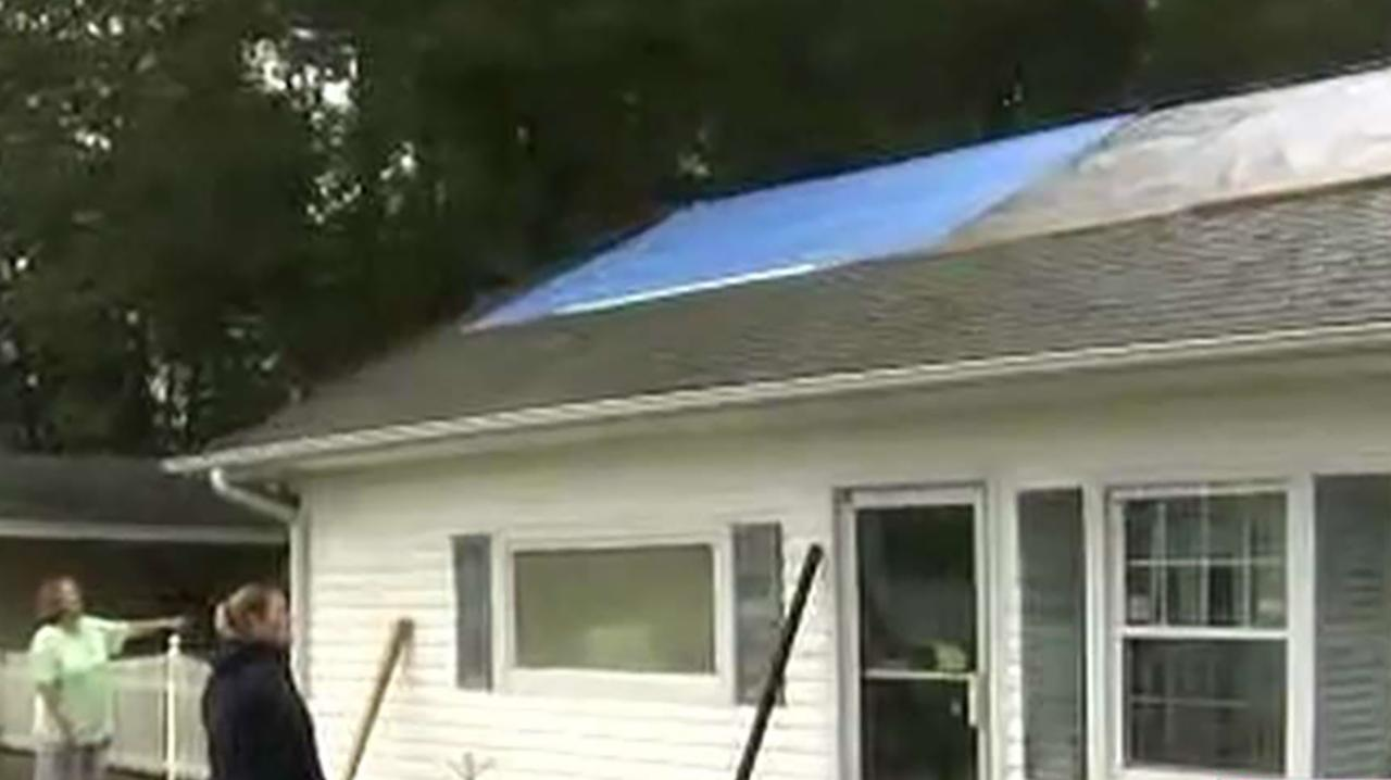 Inside a South Carolina home damaged by Florence