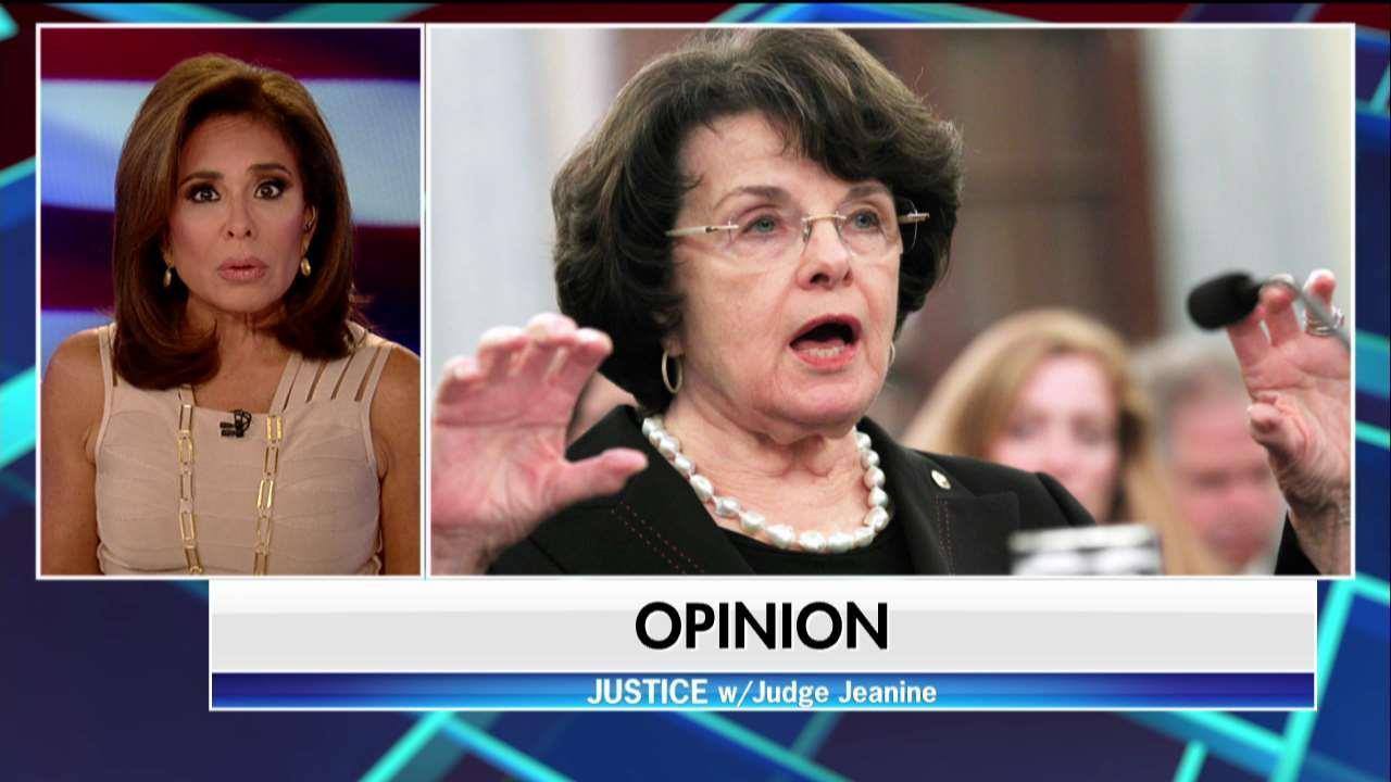 Judge Jeanine on Feinstein Letter