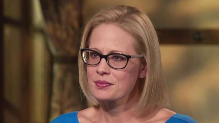 Kyrsten Sinema talks immigration on 'Town Hall America'