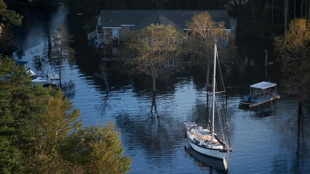 Catastrophic flooding hits the Carolinas